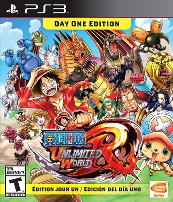 One Piece: Unlimited World Red PS3 coverM (BLUS31427)