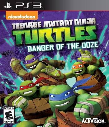Teenage Mutant Ninja Turtles: Danger of the Ooze PS3 coverM (BLUS31435)