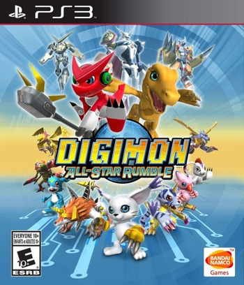 Digimon All-Star Rumble PS3 coverM (BLUS31441)