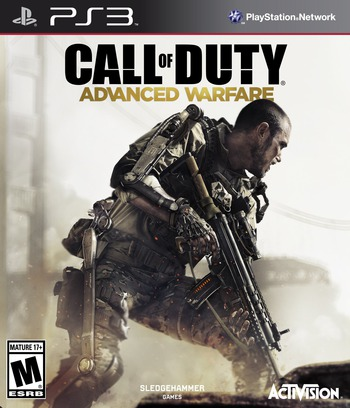 Call of Duty: Advanced Warfare PS3 coverM (BLUS31446)