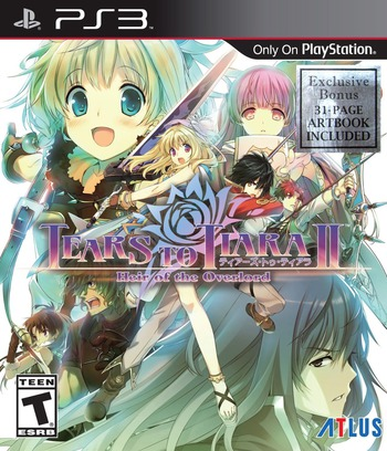 Tears to Tiara II: Heir of the Overload PS3 coverM (BLUS31476)