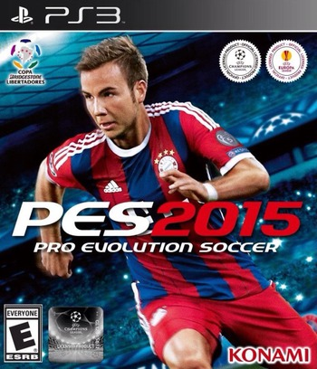 Pro Evolution Soccer 2015 PS3 coverM (BLUS31480)