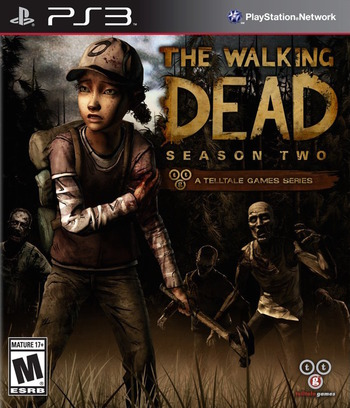 The Walking Dead: Season 2 - A Telltale Games Series PS3 coverM (BLUS31488)