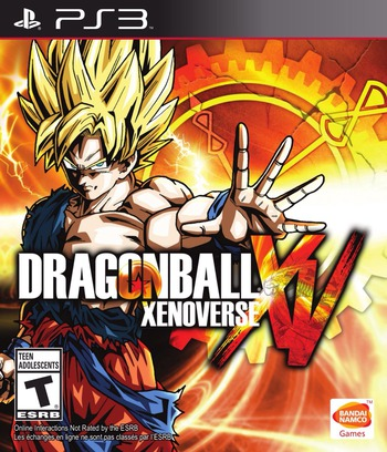 Dragon Ball: Xenoverse PS3 coverM (BLUS31507)