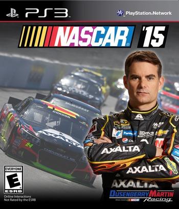 NASCAR 15 PS3 coverM (BLUS31560)