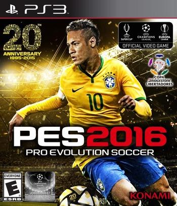 Pro Evolution Soccer 2016 PS3 coverM (BLUS31564)