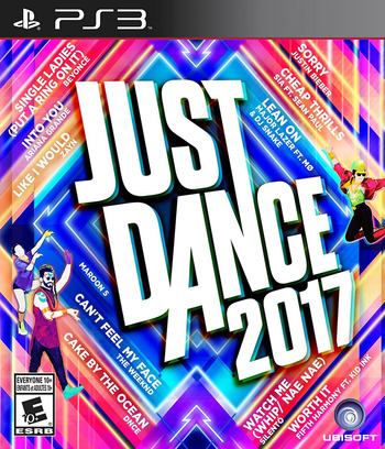 Just Dance 2017 PS3 coverM (BLUS31595)