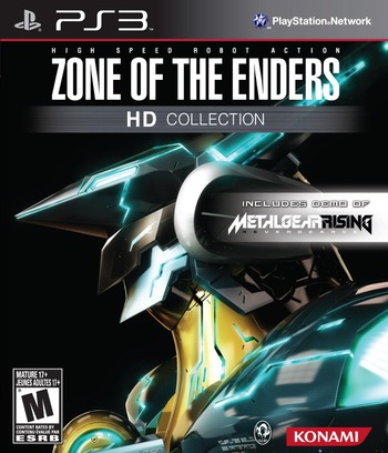 Zone of the Enders HD Collection - Limited Edition (Includes demo of Metal Gear Rising: Revengence) PS3 coverM (BLUS41007)