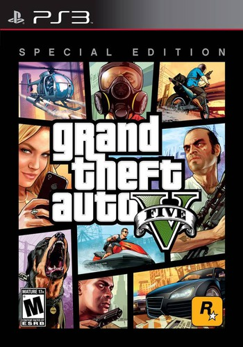 Grand Theft Auto V (Special Edition) PS3 coverM (BLUS41019)