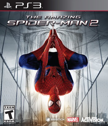 The Amazing Spider-Man 2 PS3 coverM (BLUS41044)