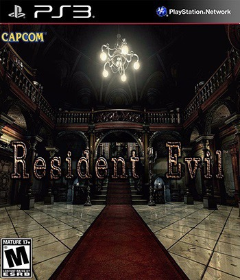 Resident Evil HD Remaster PS3 coverM (NPUB31552)