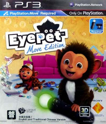 虛擬寵物猴(MOVE EDITION)(中/英/韓文版) PS3 coverM (BCAS20140)