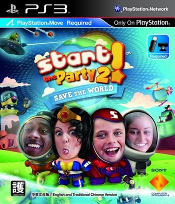 派對總動員2! PS3 coverM (BCAS20213)