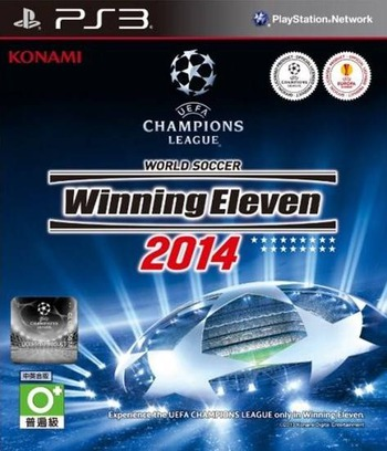 World Soccer Winning Eleven 2014 PS3 coverM (BLAS50619)