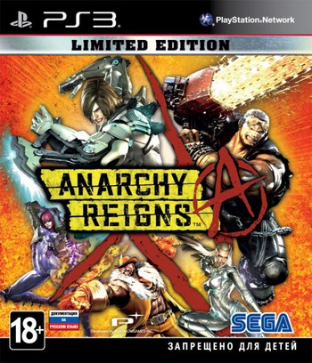Anarchy Reigns PS3 coverM (BLES01232)