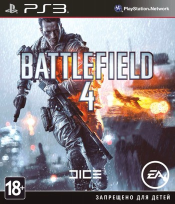 Battlefield 4 PS3 coverM (BLES01832)
