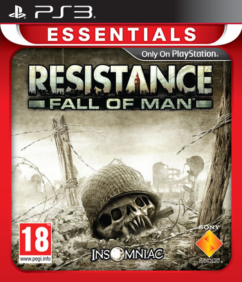 Resistance: Fall of Man PS3 coverM2 (BCES00001)
