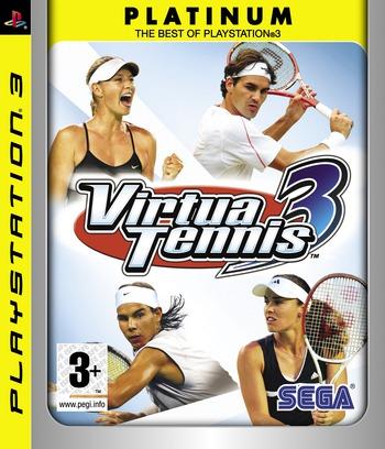 Virtua Tennis 3 PS3 coverM2 (BLES00027)