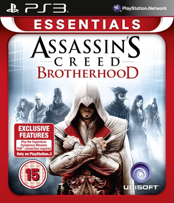 Assassin's Creed: Brotherhood PS3 coverM2 (BLES00909)