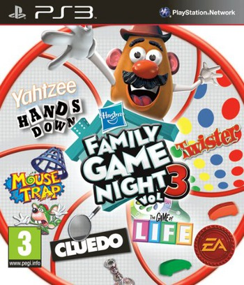 Hasbro Family Game Night 3 PS3 coverM2 (BLES00973)