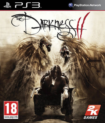 The Darkness II PS3 coverM2 (BLES01388)
