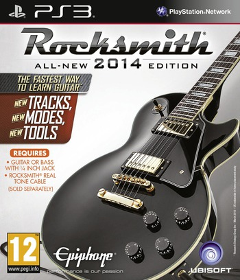 Rocksmith 2014 Edition PS3 coverM2 (BLES01862)