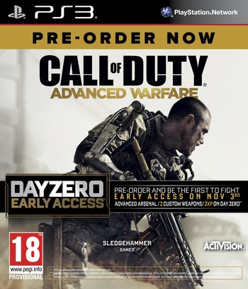Call of Duty: Advanced Warfare PS3 coverM2 (BLES02077)