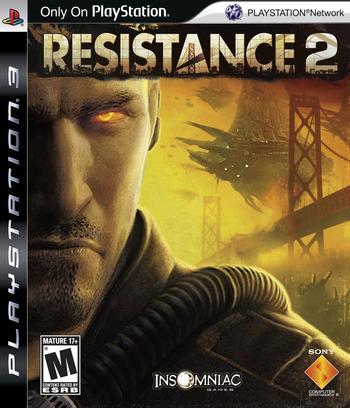 Resistance 2 PS3 coverM2 (BCUS98120)