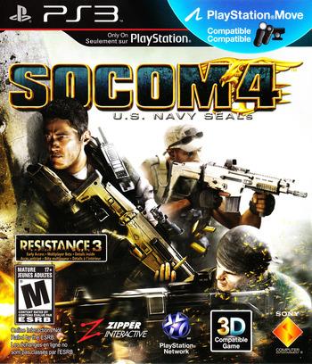 SOCOM 4: U.S. Navy SEALs PS3 coverM2 (BCUS98135)
