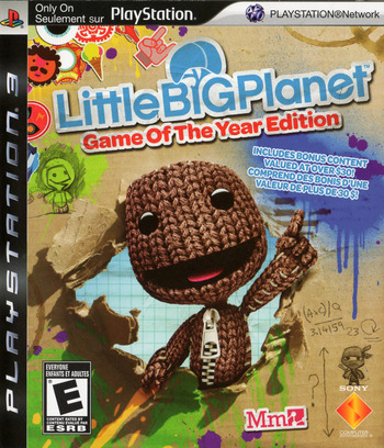 LittleBigPlanet (Game of the Year Edition) Array coverM2 (BCUS98208)