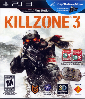 Killzone 3 PS3 coverM2 (BCUS98234)