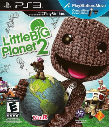 LittleBigPlanet 2 PS3 coverM2 (BCUS98245)