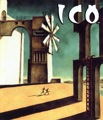 The ICO & Shadow of the Colossus Collection PS3 coverM2 (BCUS98259)