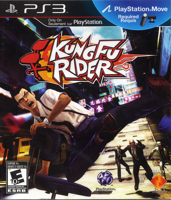 Kung Fu Rider PS3 coverM2 (BCUS98270)