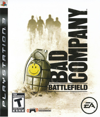 Battlefield: Bad Company PS3 coverM2 (BLUS30118)