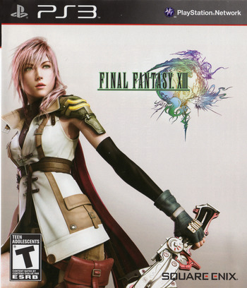 Final Fantasy XIII PS3 coverM2 (BLUS30416)