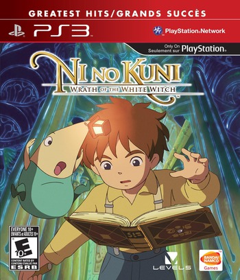 Ni No Kuni: Wrath of the White Witch PS3 coverM2 (BLUS30947)