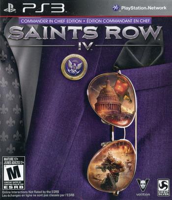 Saints Row IV PS3 coverM2 (BLUS31205)