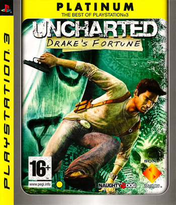 Uncharted: Drake's Fortune PS3 coverMB (BCES00065)