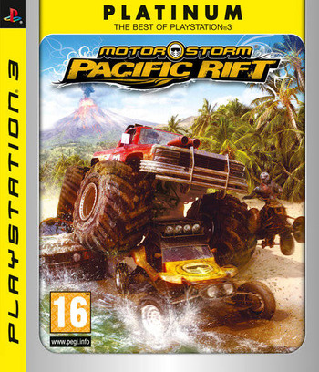 MotorStorm: Pacific Rift PS3 coverMB (BCES00129)