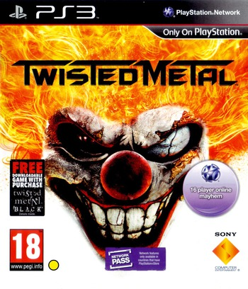 Twisted Metal PS3 coverMB (BCES01010)