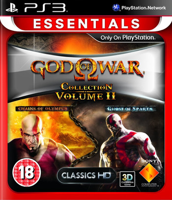 God of War Collection Volume II PS3 coverMB (BCES01277)