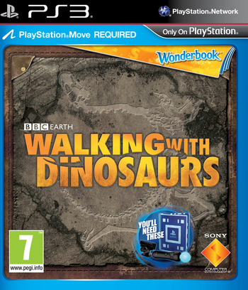 Wonderbook: Walking with Dinosaurs PS3 coverMB (BCES01806)