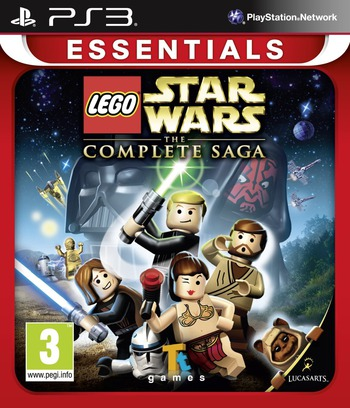 LEGO Star Wars: The Complete Saga PS3 coverMB (BLES00121)