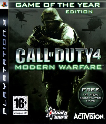 Call of Duty 4: Modern Warfare PS3 coverMB (BLES00148)