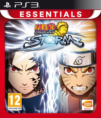 Naruto: Ultimate Ninja Storm PS3 coverMB (BLES00371)