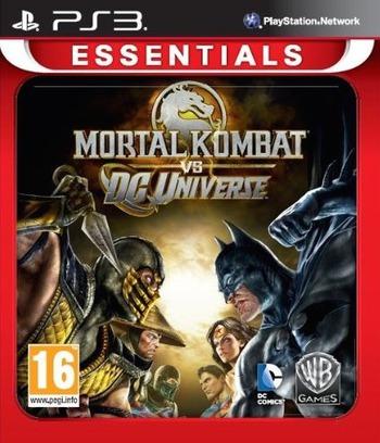 Mortal Kombat vs. DC Universe PS3 coverMB (BLES00441)