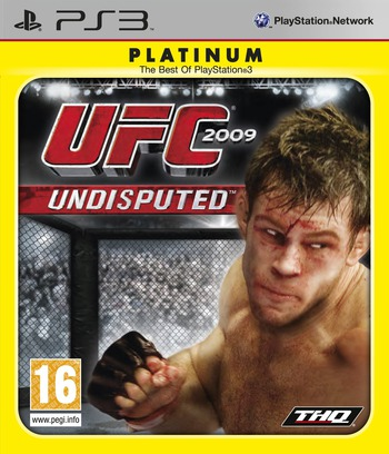 UFC 2009: Undisputed PS3 coverMB (BLES00539)