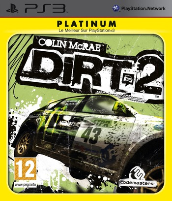 Colin McRae: DiRT 2 PS3 coverMB (BLES00673)