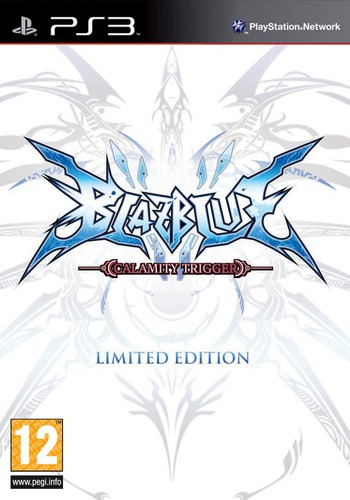 BlazBlue: Calamity Trigger PS3 coverMB (BLES00820)